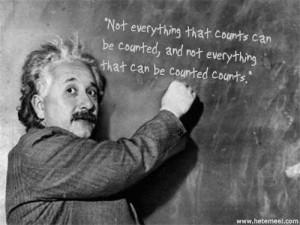 Return on Marketing Investment- Einstein Quote