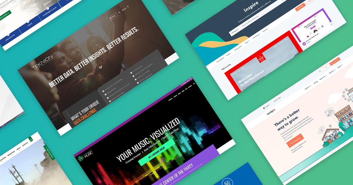 Mojo Blog - 5 Gorgeous Websites Built on HubSpot - Header