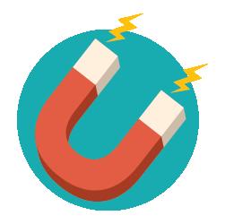 Inbound Marketing - Magnet Icon