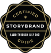 Logo of Certified Storybrand Guide